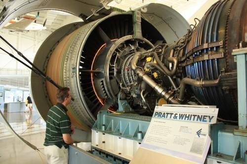 De Pratt & Whitney 4098, de motor van de Boeing 777