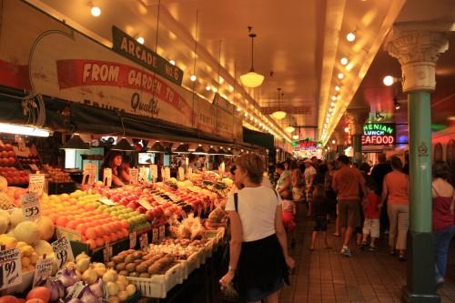 Pike Place, de oudste markt van de Verenigde Staten