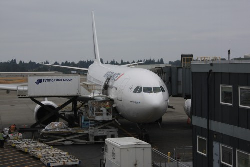 Ons vliegtuig, een Air France Airbus A330-200